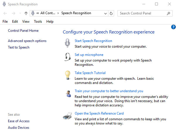 أفضل تطبيقات التعرف على الكلام ويندوز 10
