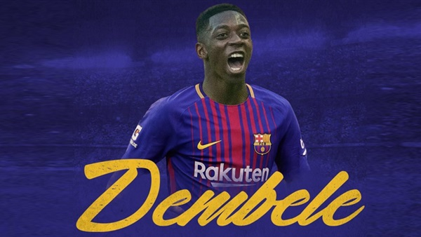 نتيجة بحث الصور عن ديمبلي في برشلونة