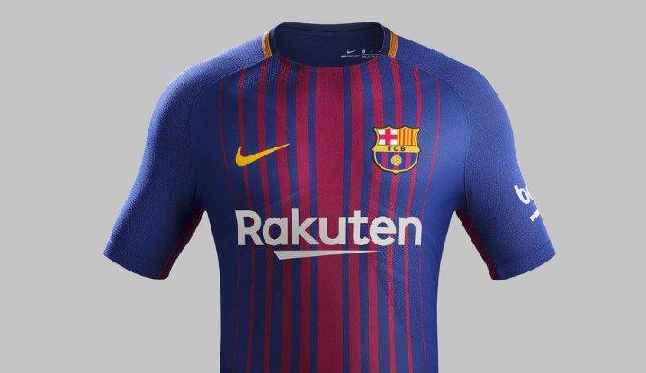 نتيجة بحث الصور عن قميص برشلونه فى موسم 2017