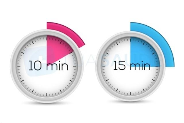 انتظر 10-15 دقيقة وافرك المنطقة