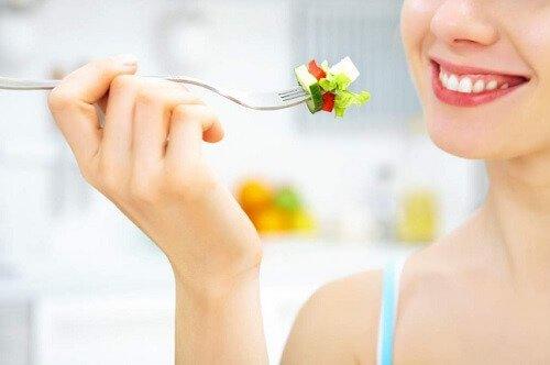 أنا اتباع اتباع نظام غذائي صحي