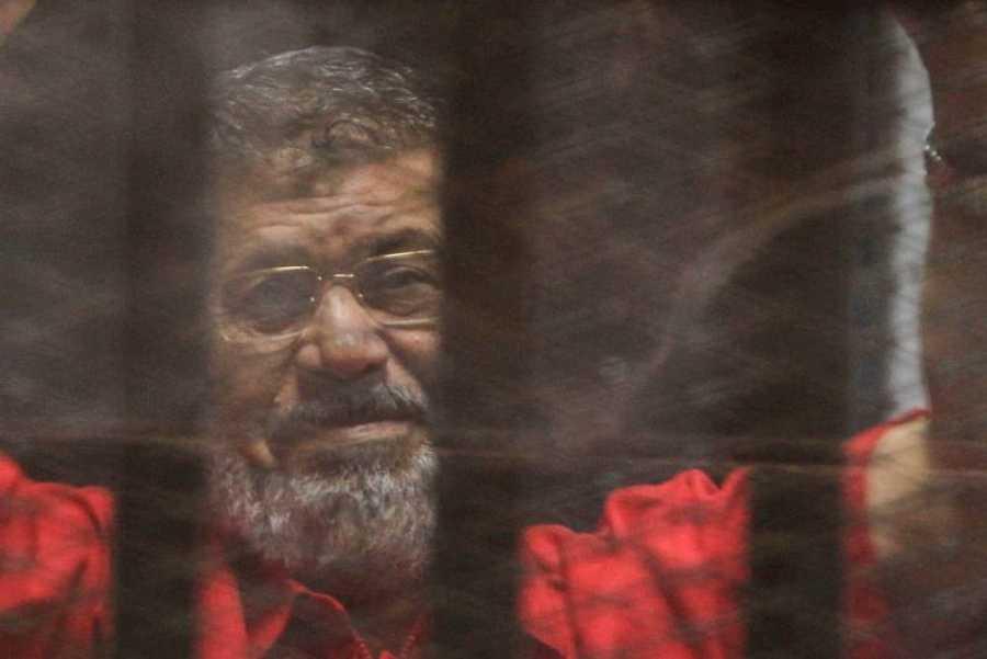 الرئيس السابق لمصر محمد مرسي ، حاول في القاهرة (مصر) في عام 2016.