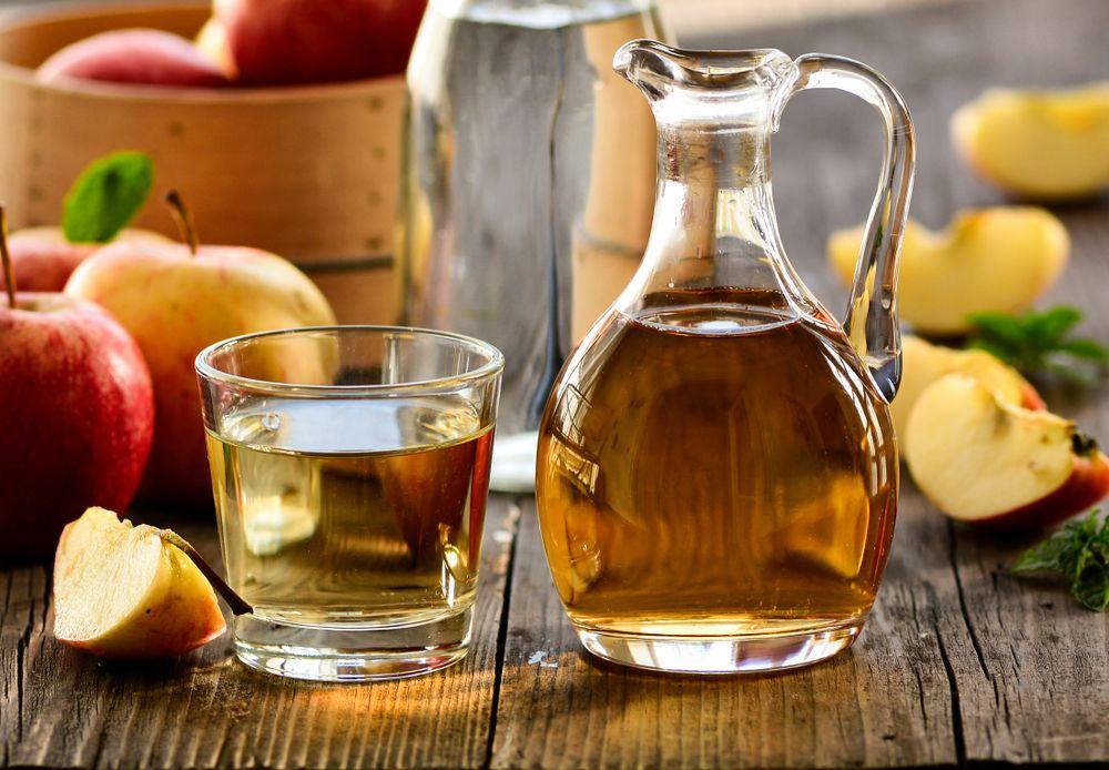 عصير التفاح والخل