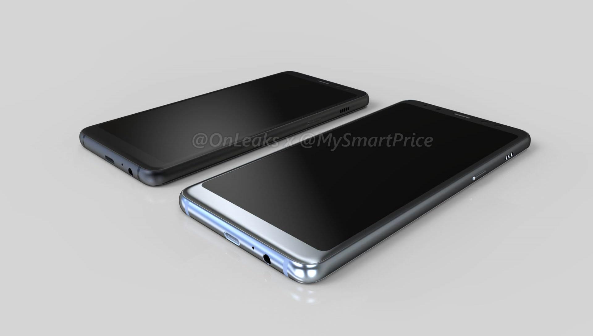 سامسونج غالاكسي A5 2018 سيكون سامسونج غالاكسي S8 البسيطة