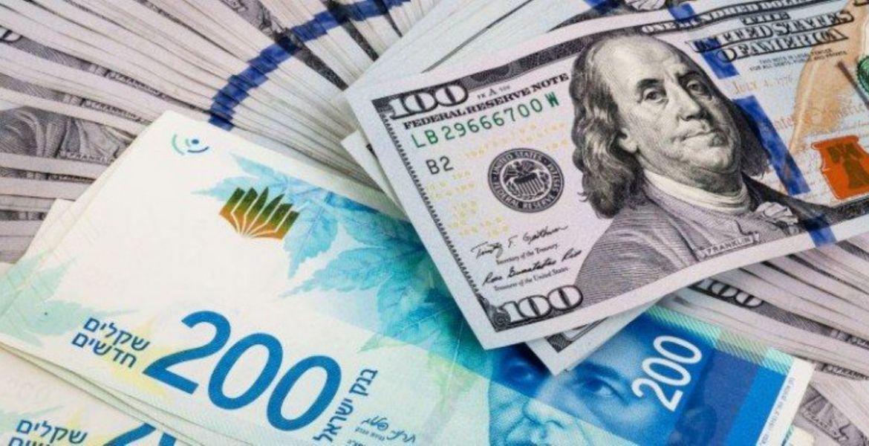 أسعار صرف العملات مقابل الشيكل في فلسطين