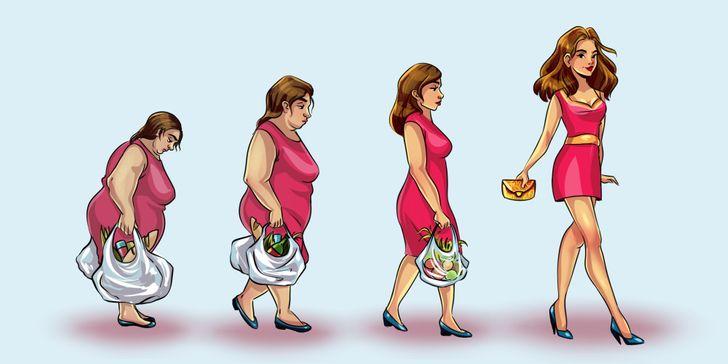 9 أخطاء في التغذية تجعلنا سمينين