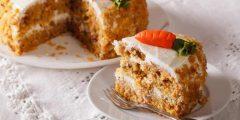 طريقة عمل كعكة جزر غنية بدون بيض أو دهن