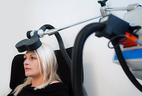 التحفيز المغناطيسي عبر الجمجمة