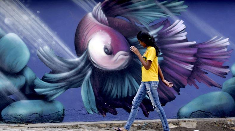 على بعد حوالي 50 كم من تيغوسيغالبا ، عاصمة هندوراس ، يشاهد السكان والزوار أكبر معرض فني في الهواء الطلق في المنطقة.