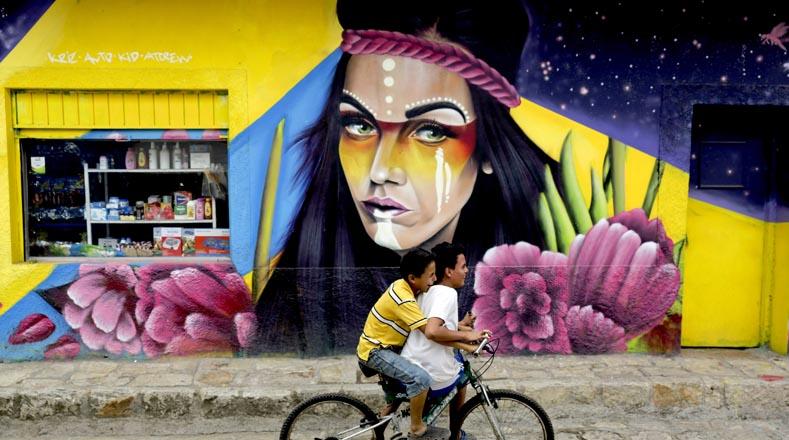 يعد هذا الحدث ، الذي بدأ عام 2017 ، الآن في نسخته الثالثة ، وهي جدارية جوانكاسكو لشعوب العالم ، ويجمع بين فنانين من هندوراس والمكسيك والأرجنتين وكولومبيا ودول أخرى في أمريكا الوسطى.