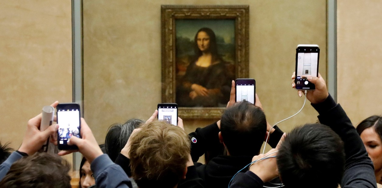 يحرر متحف اللوفر في باريس في عام 2018. REUTERS / Charles Platiau / File Photo