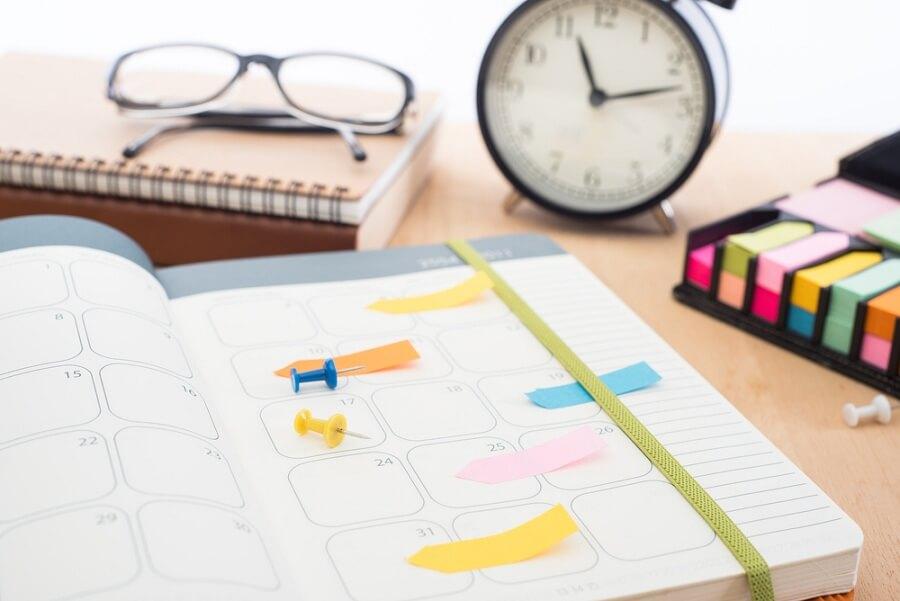 تنظيم جدول أعمالك بشكل جيد