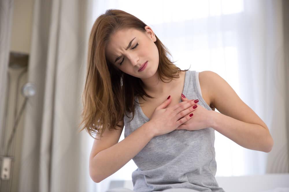 أعراض متلازمة الضائقة التنفسية الحادة