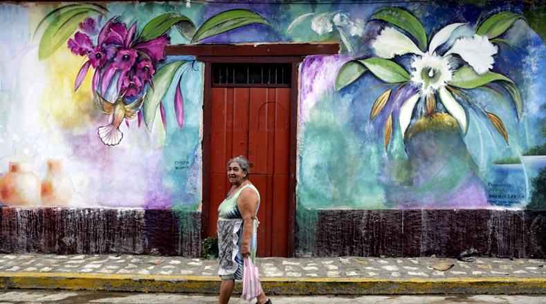 تأسست هذه المدينة ، التي تقع في مقاطعة فرانسيسكو مورازان ، في عام 1666 ، لكنها في نهاية القرن التاسع عشر غيرت اسمها إلى سان خوان دي لاس فلوريس.  لم يتكيف السكان مع هذا وفي عام 2011 كان كاناراناس مرة أخرى.