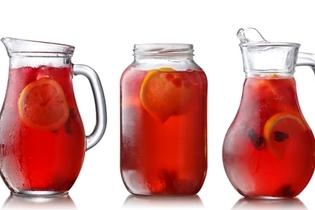 شرب الماء أو العصير أو الشاي بدون سكر