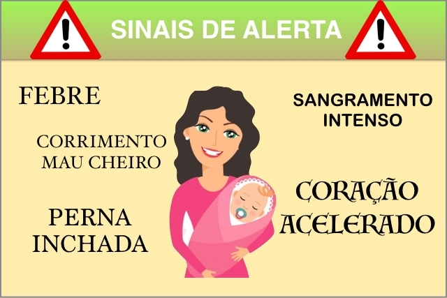 علامات التحذير بعد الولادة
