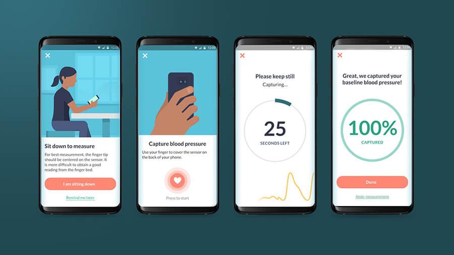 سامسونج غالاكسي S9 يمكن قياس ضغط الدم