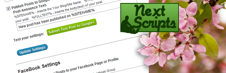 NextScripts: الشبكات الاجتماعية لصناعة السيارات في ملصق