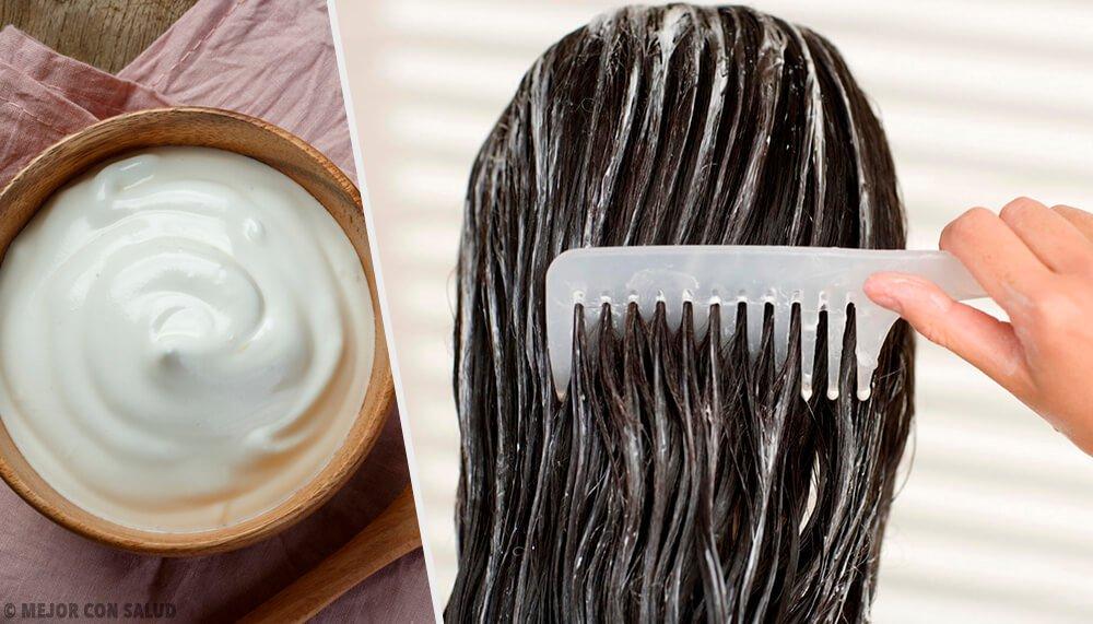 تجميل شعرك مع أقنعة المايونيز