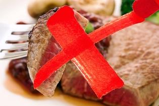 تجنب تناول اللحوم غير المطبوخة جيدا