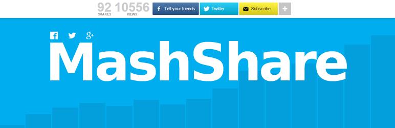 MashShare الاجتماعية وسائل الإعلام أزرار المشاركة