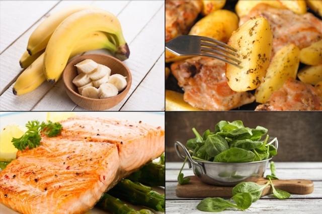 أغذية غنية بفيتامينات ب