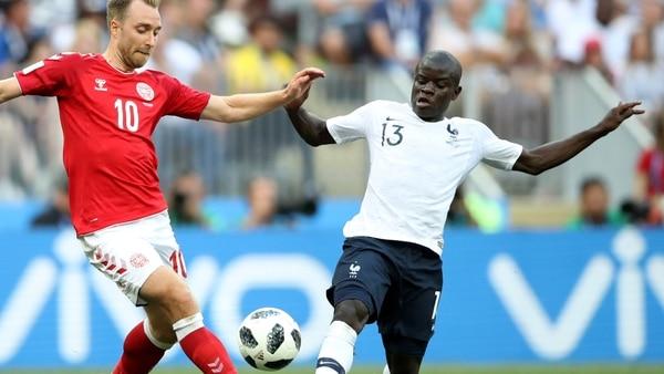 عقدت الدنمارك في قرعة ضد فرنسا لتجنب الوقوع في المجموعة الأولى (رويترز)