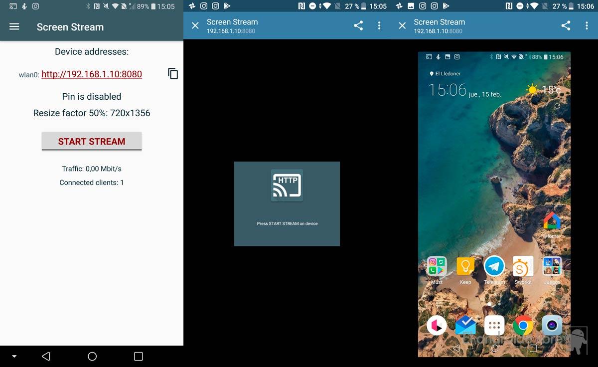 كيفية مشاركة الشاشة مع هاتف أندرويد آخر