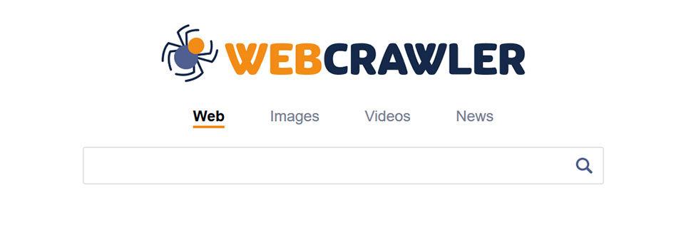 Webcrawler ، محرك بحث تاريخي على الإنترنت