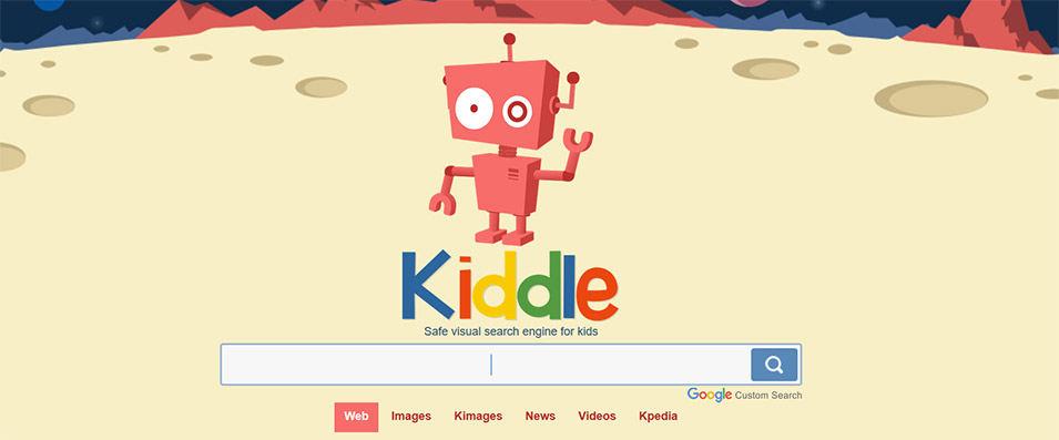 Kiddle ، محرك بحث على الإنترنت للأطفال