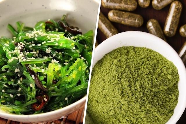 الأعشاب البحرية تساعد على إنقاص الوزن