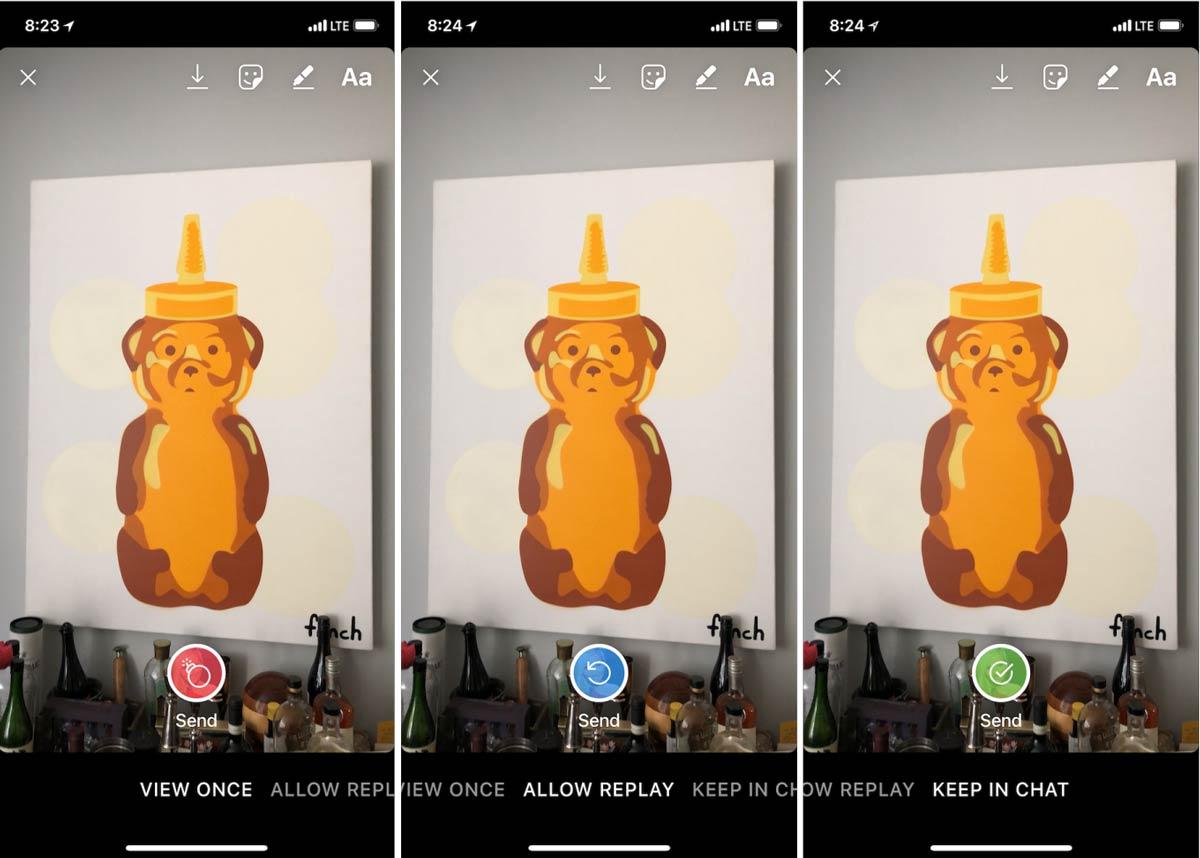 إينستاجرام يجعل الصور المرسلة عن طريق رسالة مباشرة أكثر أمنا