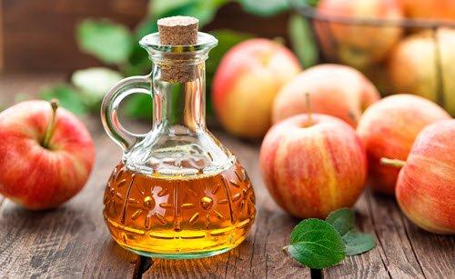خل التفاح الفطر واحد