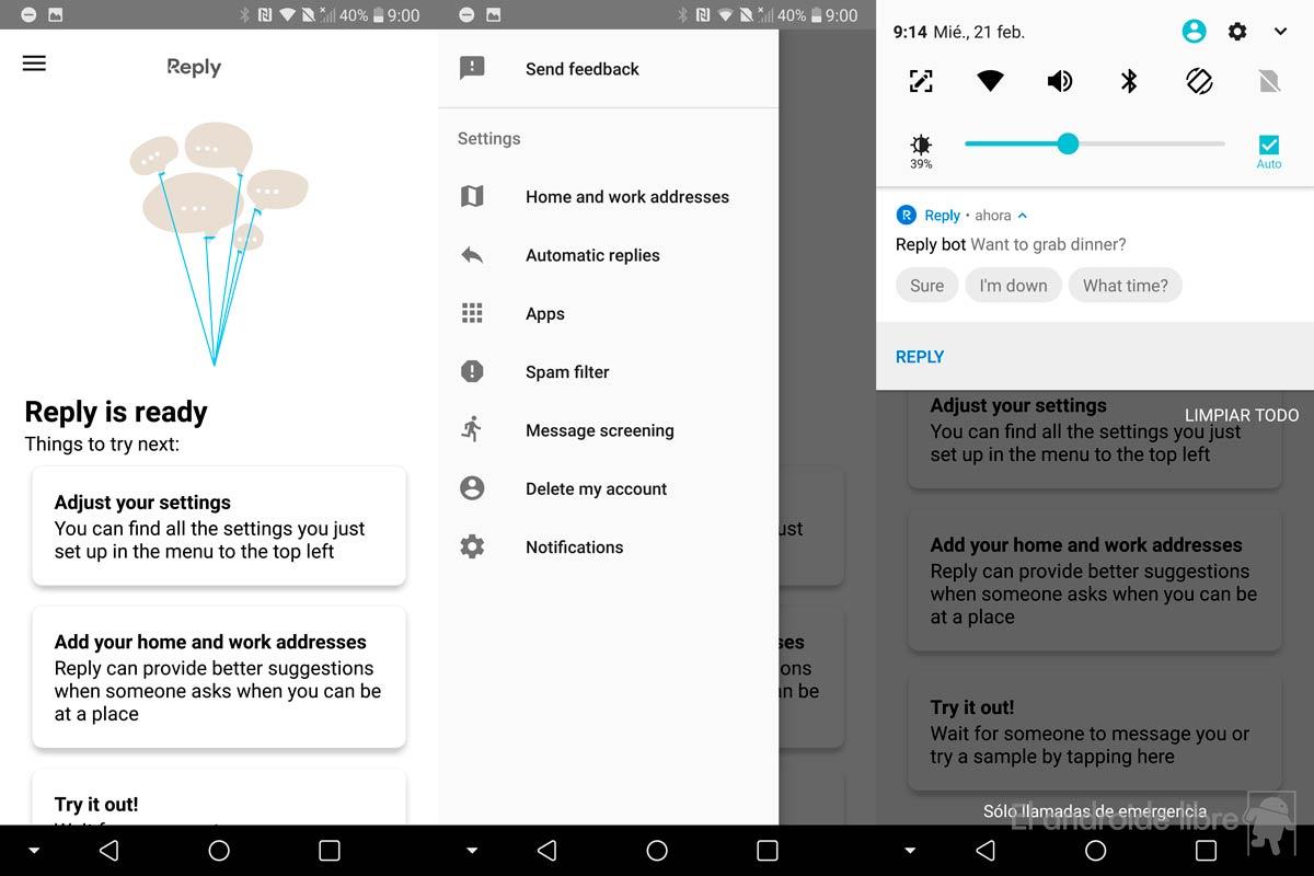 هذا هو جوجل الرد، التطبيق الإجابات الذكية إلى رسائلك [أبك]