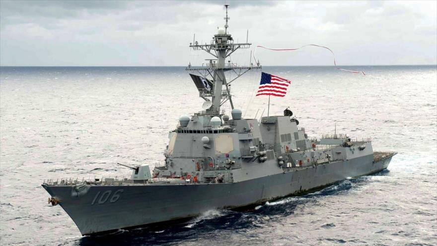 السفن الأمريكية تعبر مضيق تايوان في تحد للصين |  إيسبان تي في