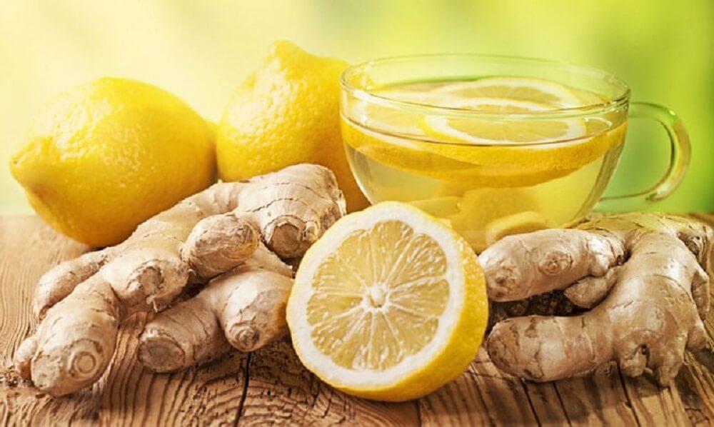 الزنجبيل الليمون