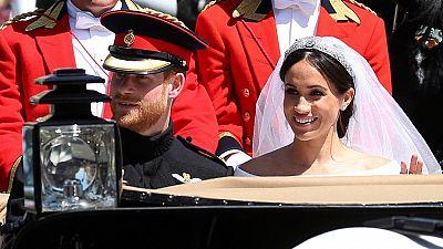 التقرير الأسبوعي - حفل زفاف هاري وميغان - انظر الآن