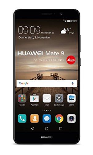 Huawei Mate 9 SIM doble 4G 64GB Negro - Smartphone (15 cm (5.9