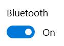 زر بلوتوث على نظام التشغيل Windows 10